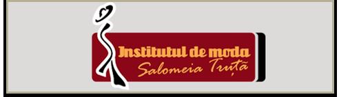 Logo institutul de moda pe alb