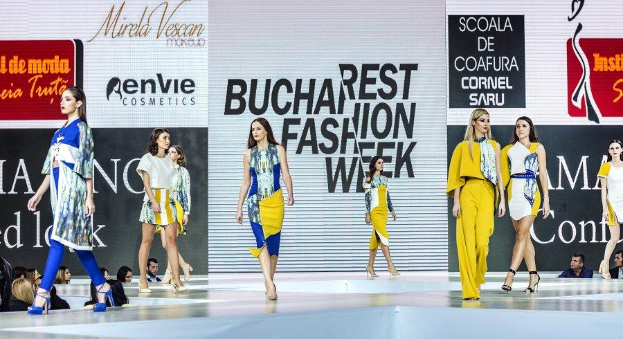 Scena design vestimentar la Bucharest fashion week