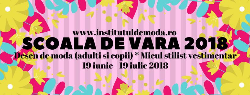 Scoala de moda Salomeia Truta anunta organizarea unor cursuri de design vestimentar atat pentru adulti cat si pentru copii